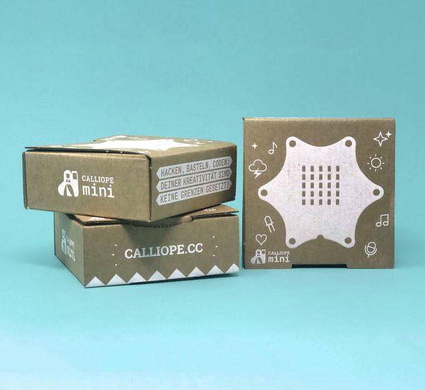 Tri krabice Calliope mini