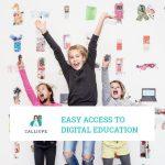 """Vyobrazenie - Prezentácia """"Easy access to digital education"""""""